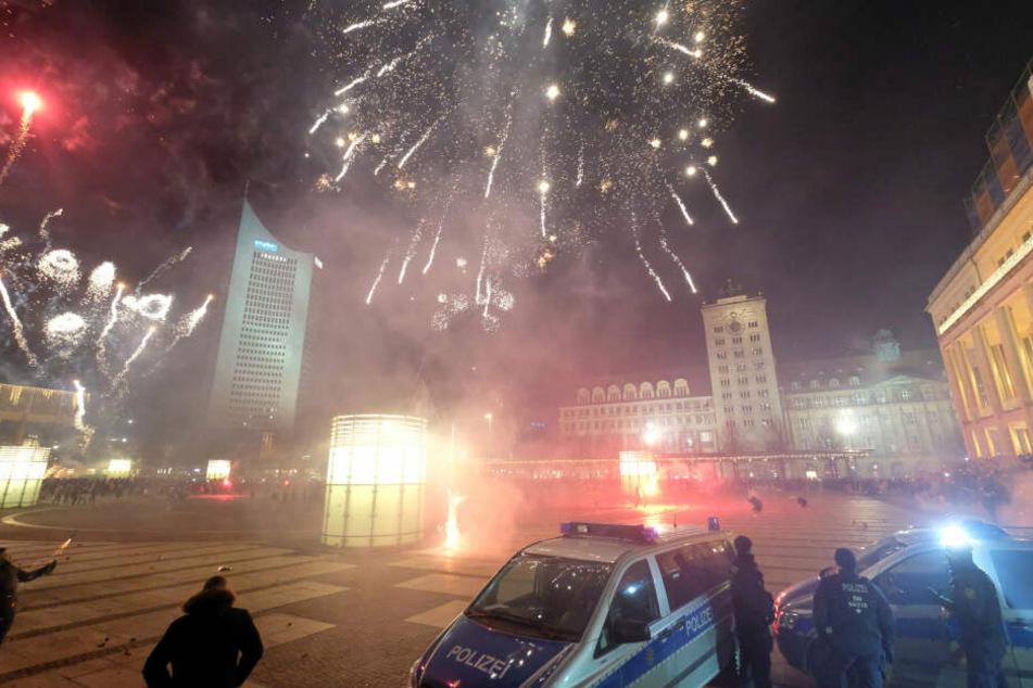 Vor allem in der Innenstadt wird an Silvester ordentlich mit Raketen rumgeballert.