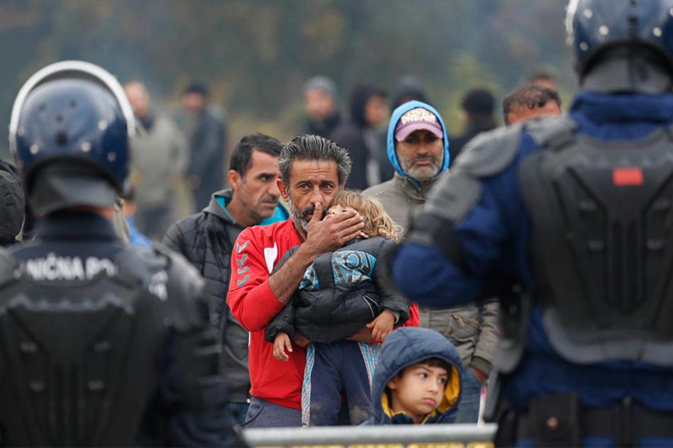Tausende Flüchtlinge wollen wieder in die EU