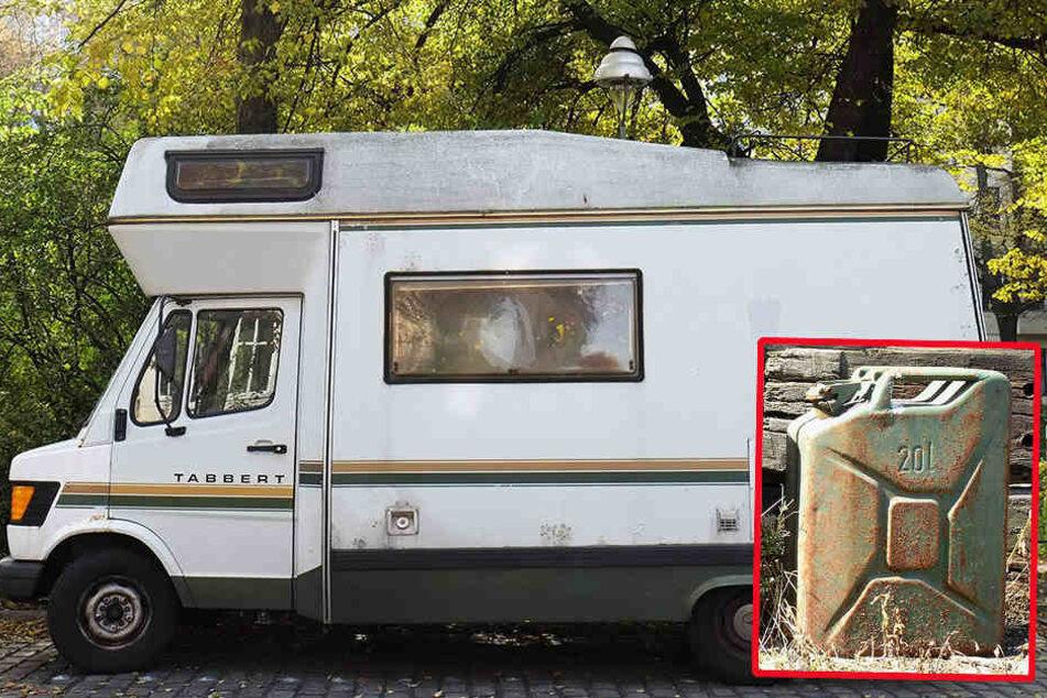 Eine rutschige Spur hinterließ ein Wohnmobil aus Norddeutschland. (Symbolbild)