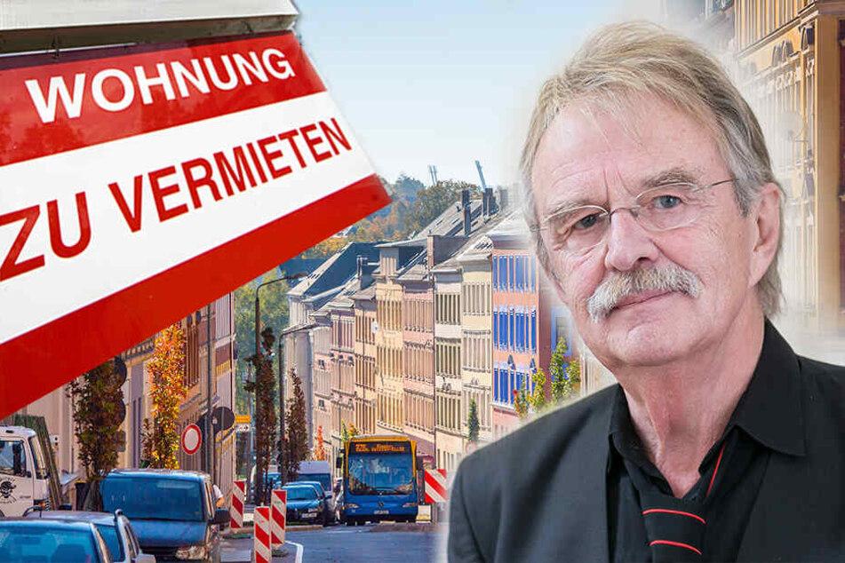 Verrückt! Chemnitz hat mehr freie Wohnungen als Berlin und Hamburg zusammen