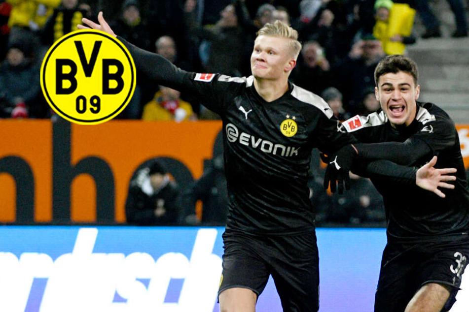 Erling Haaland mit genialem BVB-Debüt: Das machte ihn in Augsburg zum Matchwinner