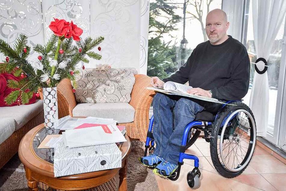 Jörg Liebmann (48) ist dankbar für die Unterstützung des DJs.