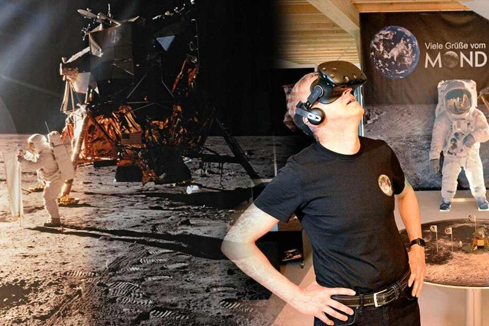 Apollo-11-Mission erleben, wie vor 50 Jahren: In Glashütte könnt Ihr auf dem Mond landen