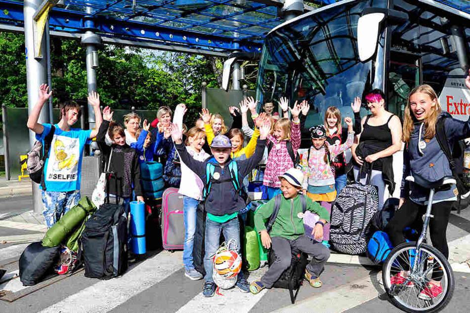 Mehr als 30.000 Kinder konnten mit den Verreisern in die Ferien fahren. Das  ist nun vorbei.