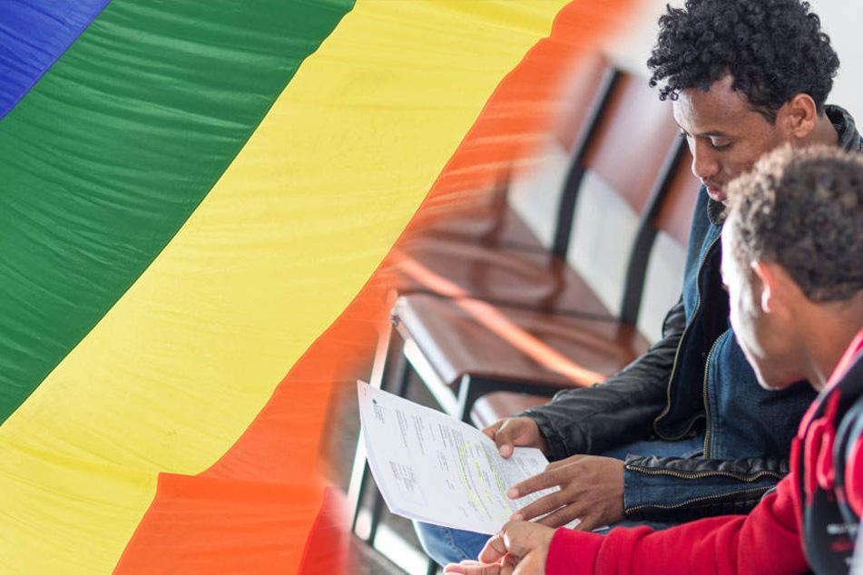 Um Asyl in Deutschland zu erhalten müssen Homosexuelle ihr Privatleben offen legen. (Symbolbild)