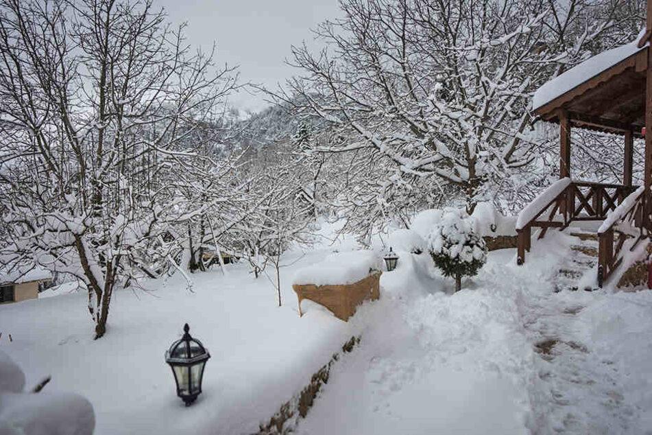 Weiße Weihnachten am Mittelmeer! 80-jährige Frau erfriert im Schneesturm