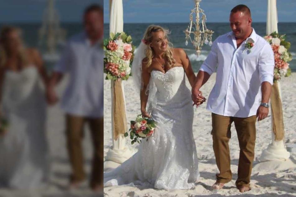 Auf seiner Hochzeit riskierte Zac Edwards sein Leben, um ein anderes zu retten.