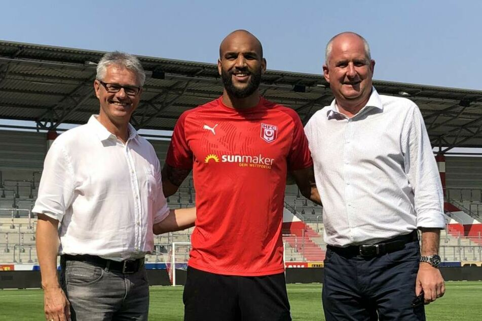 Terrence Boyd (28) kickte in Deutschland schon für Dortmund, Leipzig und Darmstadt. Von Toronto geht es jetzt nach Halle an der Saale.