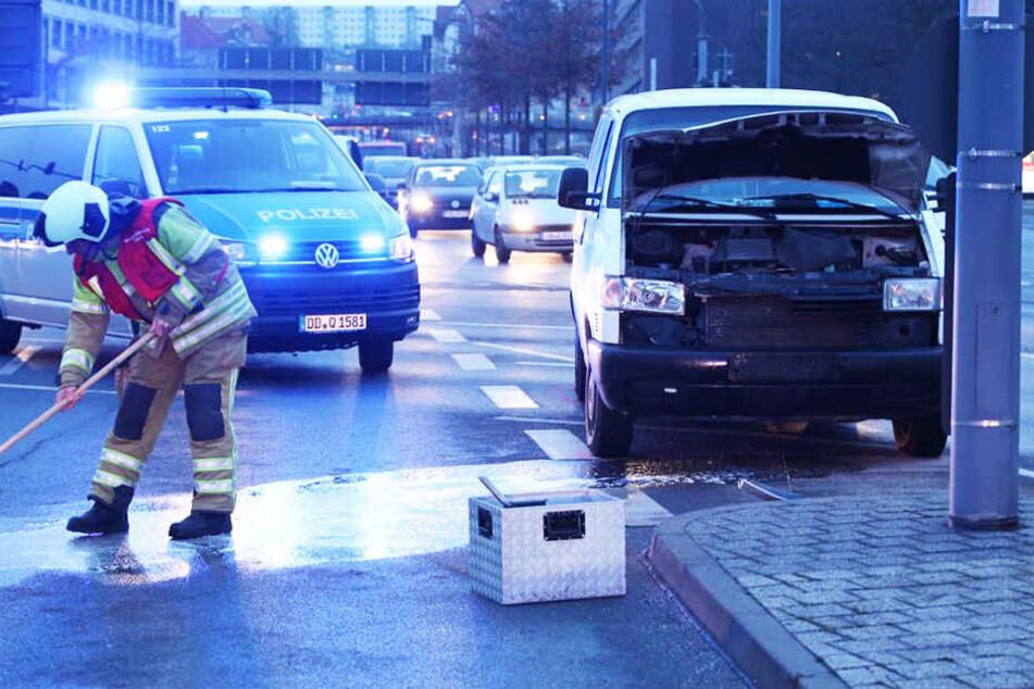 Am Freitagnachmittag ist es in der Dresdner Südvorstadt zu einem schweren Unfall gekommen.