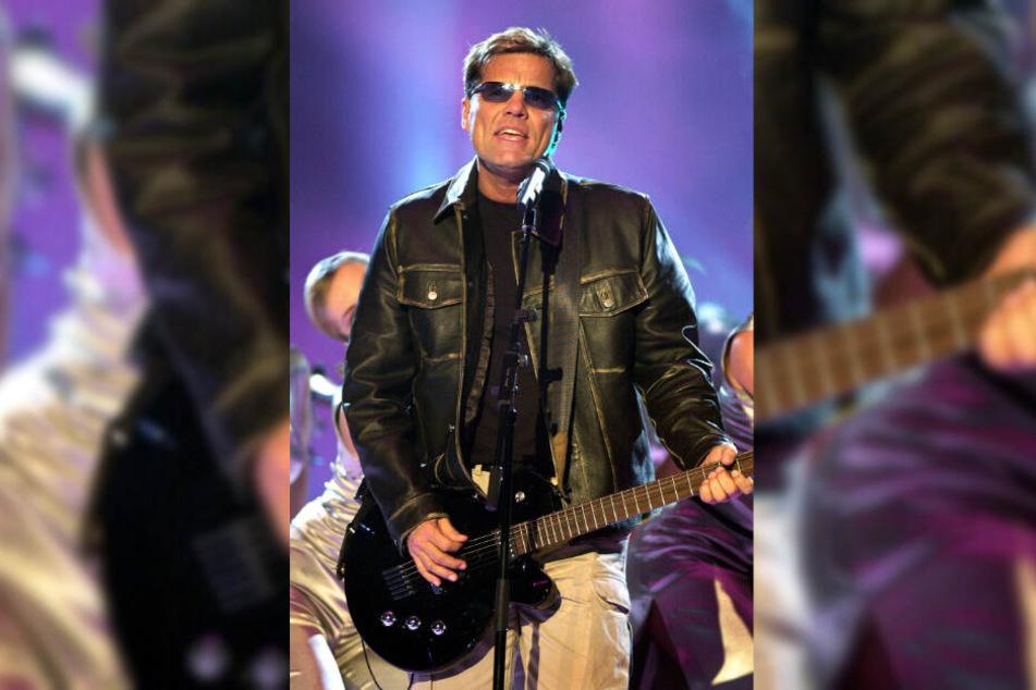 """2003 trat Dieter Bohlen mit """"Modern Talking"""" beim ESC an."""