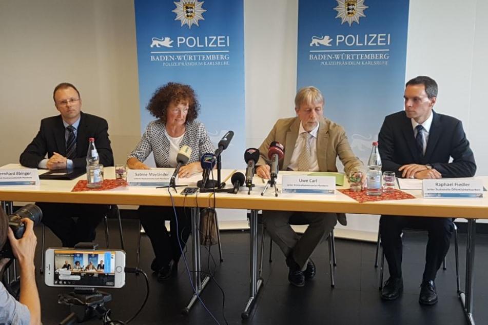 Auf einer Pressekonferenz informierten Polizei und Staatsanwaltschaft am Mittwoch die Öffentlichkeit.