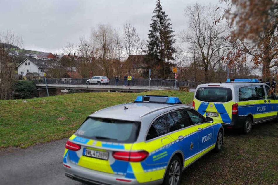 Polizeieinsatzkräfte im Januar in Tauberbischofsheim.