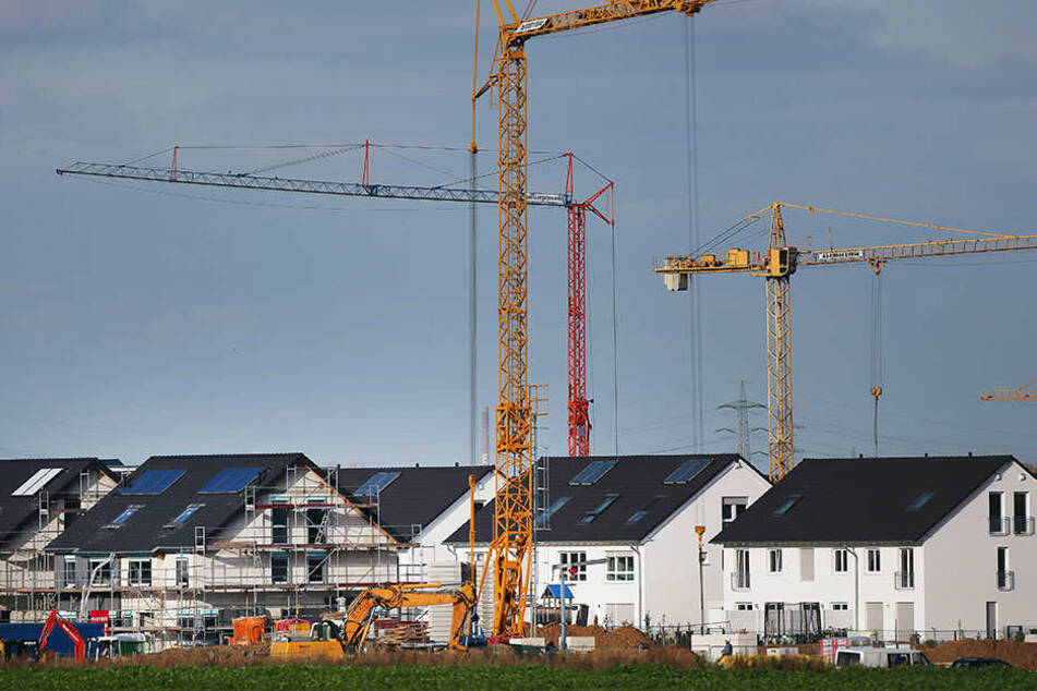 Bauen wird in Sachsen und Sachsen-Anhalt immer teurer.