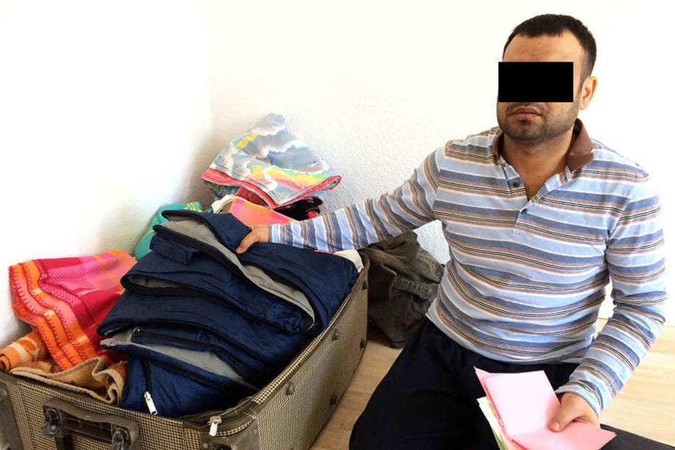 Die Polizei ermittelt weiter gegen Almohamad A. (32) wegen Unterstützung der Terrorgruppe IS.