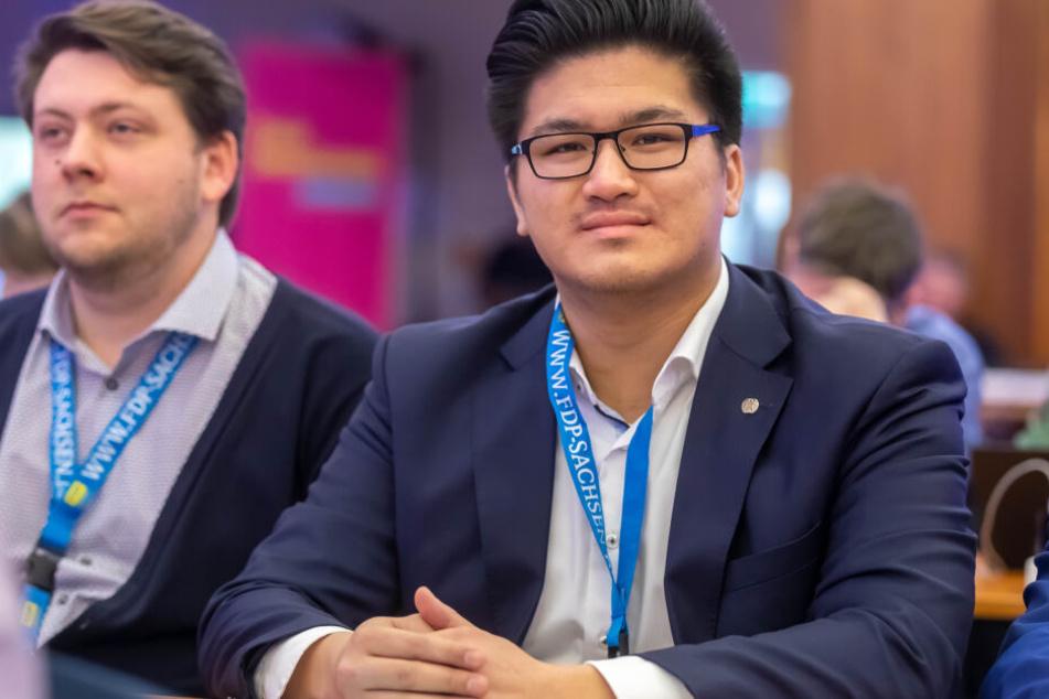 Hai Bui (27), FDP-Fraktionsgeschäftsführer, beklagt, dass die Chemnitzer Sozialarbeiter zu viel Zeit für Bürokratie aufwenden müssen.