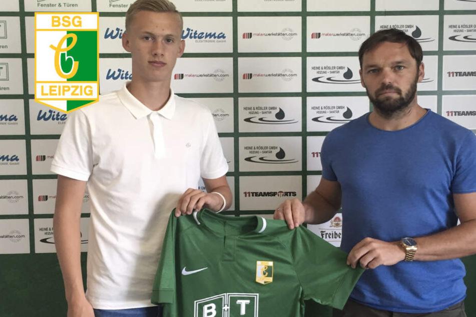 Für zwei Jahre hat der 18-jährige Björn Nikolajewski sich verpflichtet.