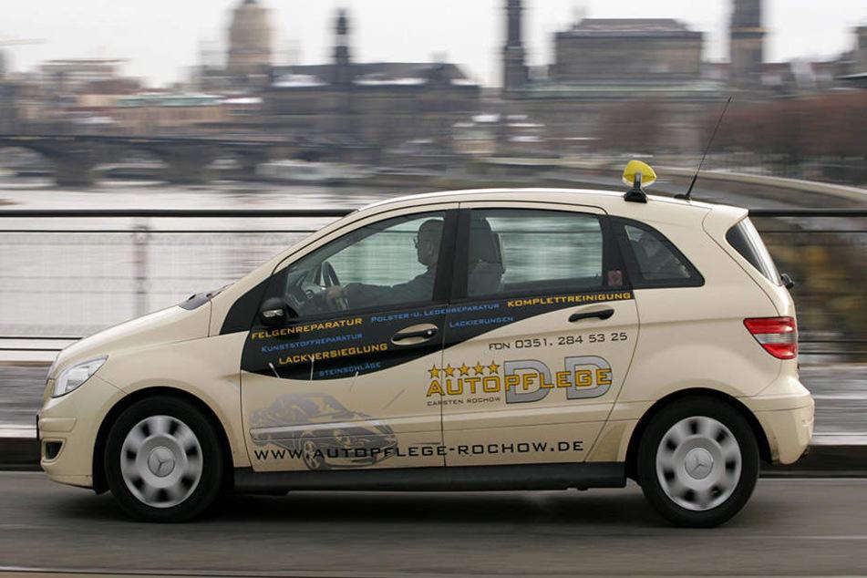 Das Eichamt hat in diesem Jahr bislang 300 Taxis in Dresden geprüft.