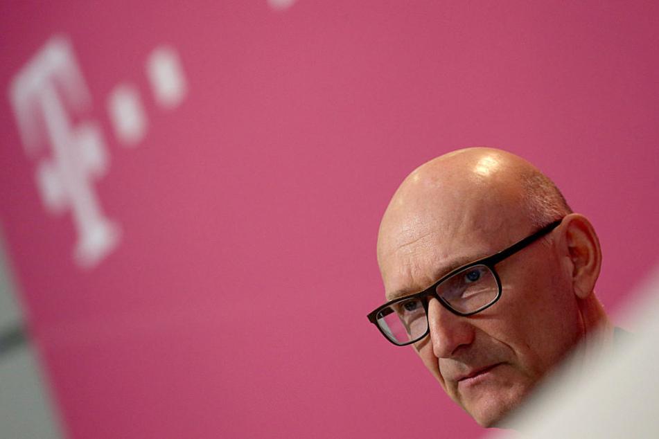 Timotheus Höttges, Vorstandsvorsitzender der Deutschen Telekom.