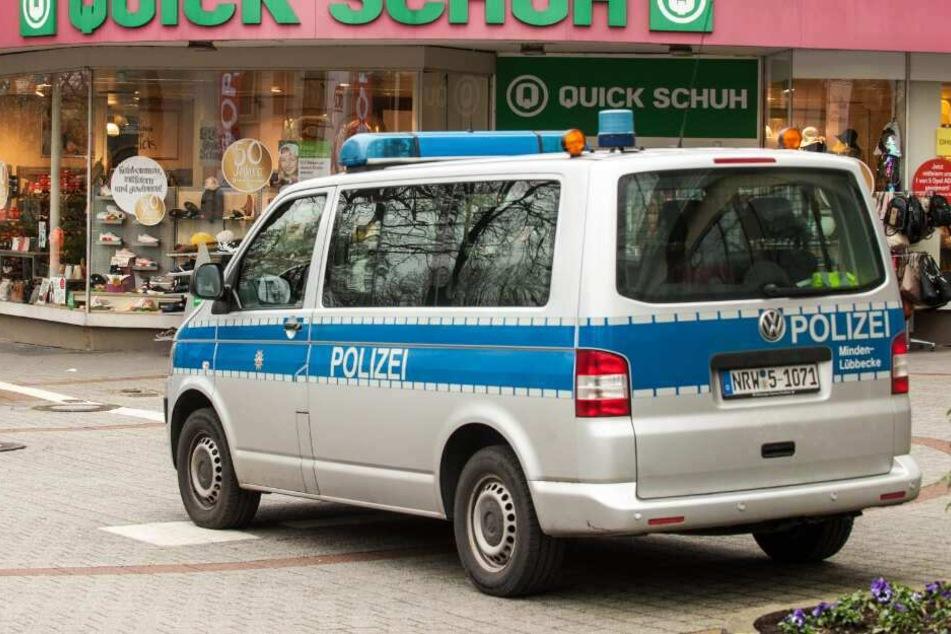 Die Polizei stellte Info-Mobile in der Innenstadt auf.