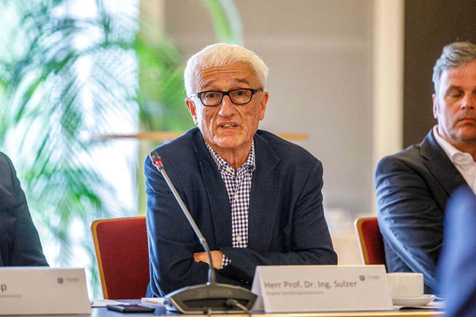 Kommissionschef Jürg Sulzer (74).