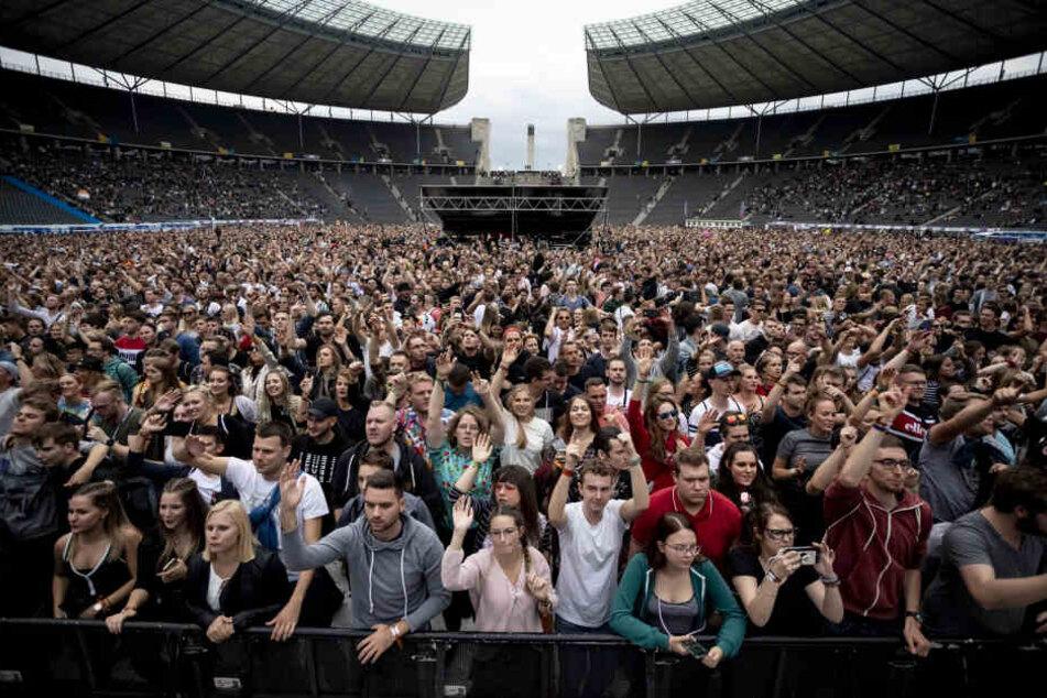 Zum diesjährigen Lollapalooza Anfang September hatte das Festival nach eigenen Angaben 85.000 Zwei-Tages-Tickets verkauft.