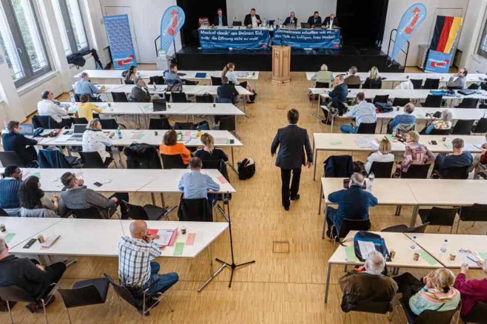 Der Parteitag der AfD Hamburg soll in einer Schulaula stattfinden. (Archivbild)