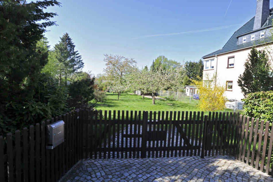 Tatort Cervantesstraße: In diesem Gartengrundstück schlug der promovierte Chemiker seine Mutter (66) nieder.