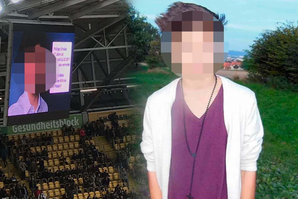 Noch am Mittwoch im Stadion rief der Verein zu Zeugenhinweisen auf, da war Philipp (†17) bereits tot.
