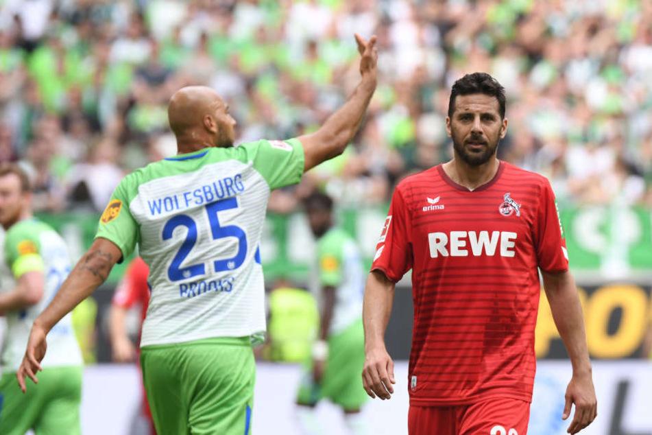 Claudio Pizarro durfte in seinem Spiel für den 1. FC Köln noch einmal von Anfang an ran.