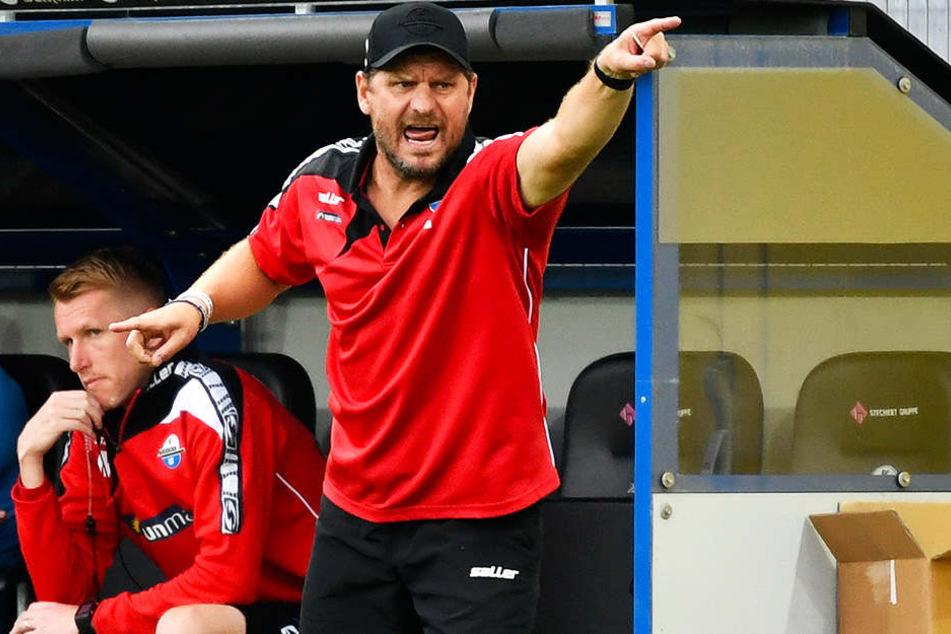 SCP-Trainer Steffen Baumgart.