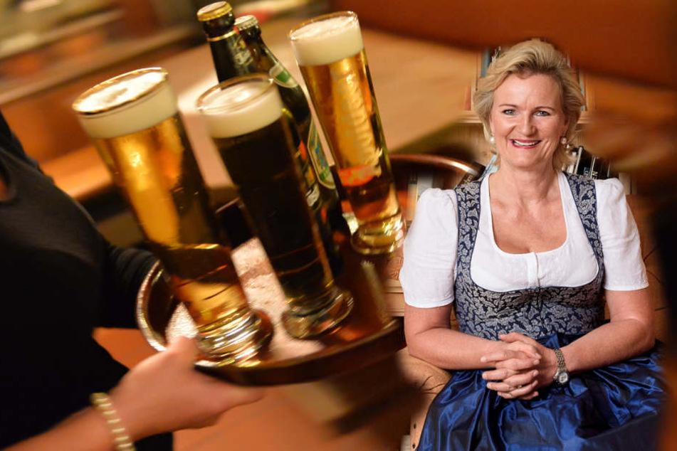 Angela Inselkammer, Präsidentin des Bayerischen Hotel- und Gaststättenverbandes hat Vorschläge für die bayerische Gastronomie.