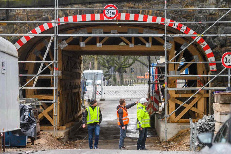 Ab November rollt hier wieder der Verkehr: Kaßbergauffahrt macht sich für Straßenbahnen bereit