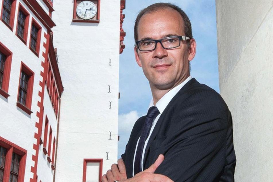 CWE-Chef Sören Uhle (42) will jetzt Fachkräfte im ICE nach Chemnitz locken.
