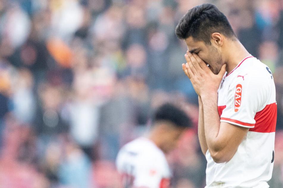 VfB-Verteidiger Ozan Kabak zeigte sich nach dem 1:1 gegen die TSG 1899 Hoffenheim enttäuscht.