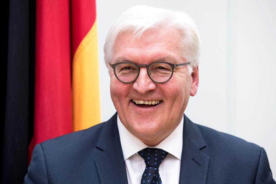 Bundespräsident Frank-Walter Steinmeier (62, SPD) kommt nach Sachsen.
