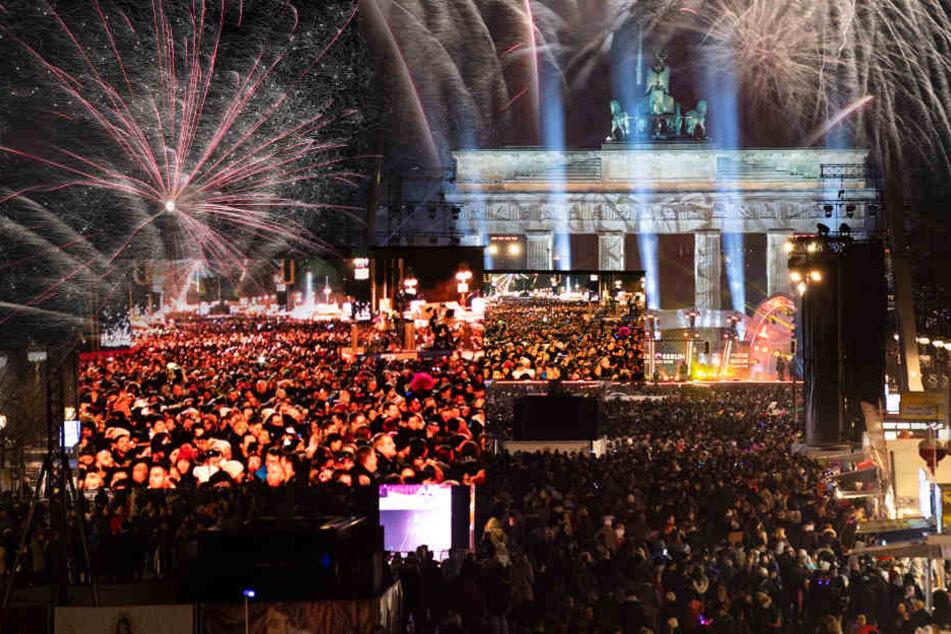 Berlin: Hallo 2019! So feierte Deutschland ins neue Jahr, während andere noch warten müssen