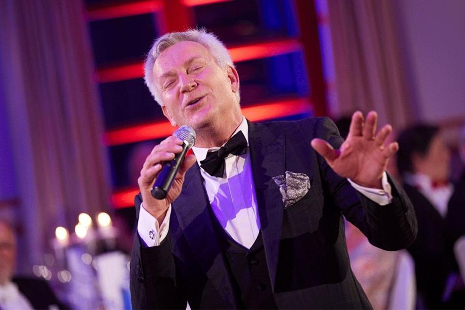 Wurde vom Publikum gefeiert: Sänger Dirk Michaelis (56).
