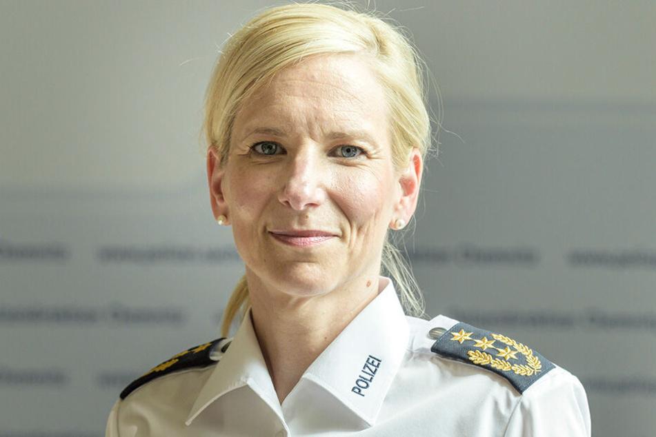 Sonja Penzel (48) zieht ein positives Fazit nach ihrem ersten Jahr als Polizeipräsidentin.