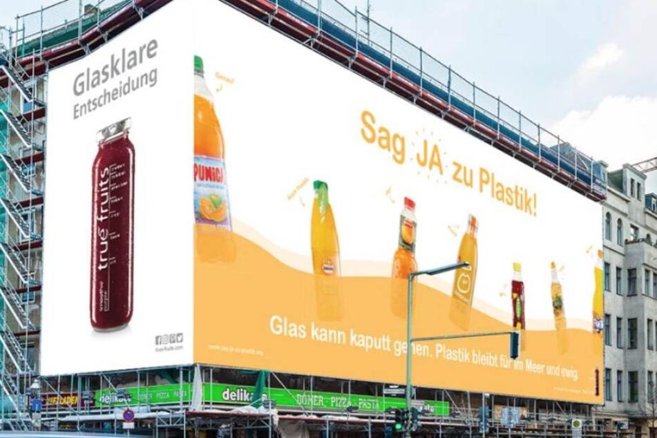 """""""Sag Ja zu Plastik"""": True Fruits provoziert erneut mit Werbung"""