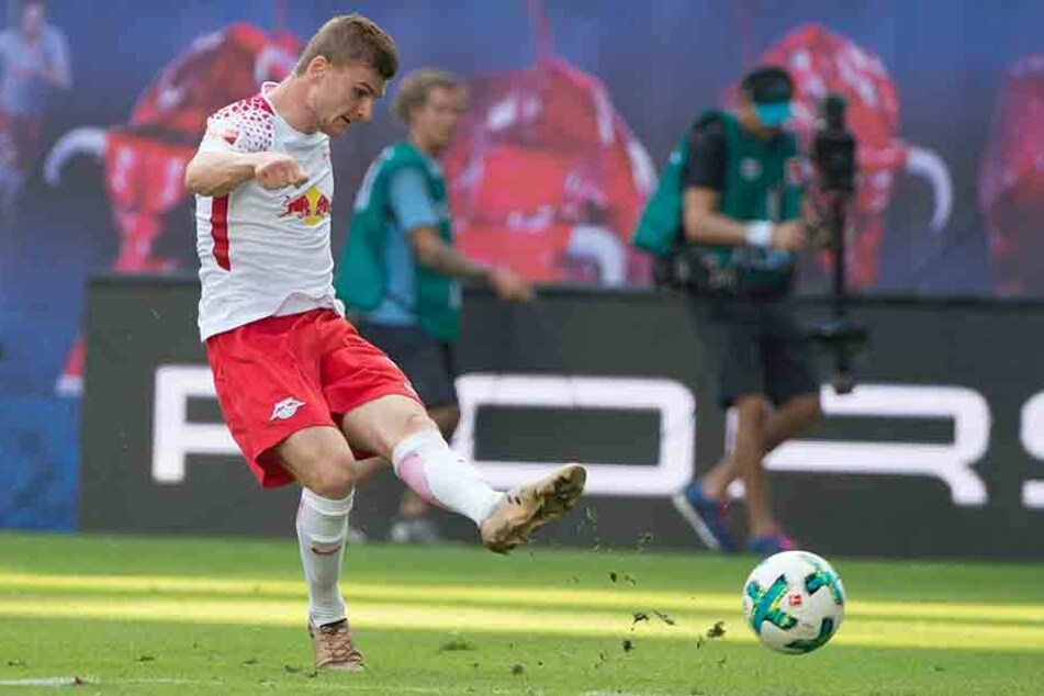 Beim Spiel gegen Freiburg traf der Nationalstürmer gleich zweimal.