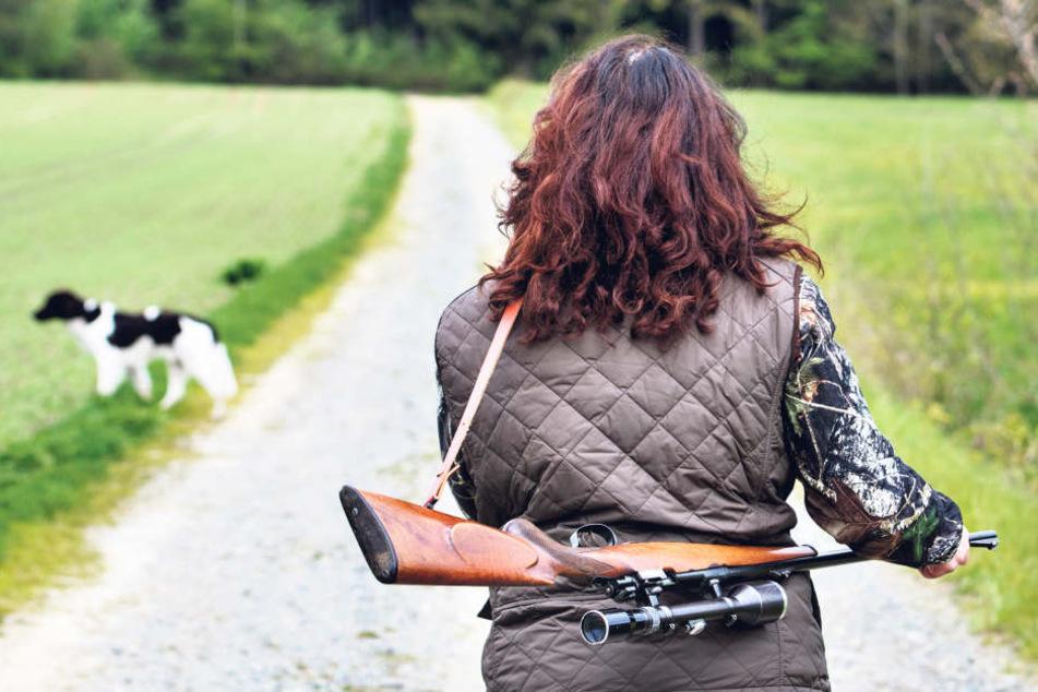 Frauen auf der Jagd: In Sachsen sind Jägerinnen keine Seltenheit mehr.