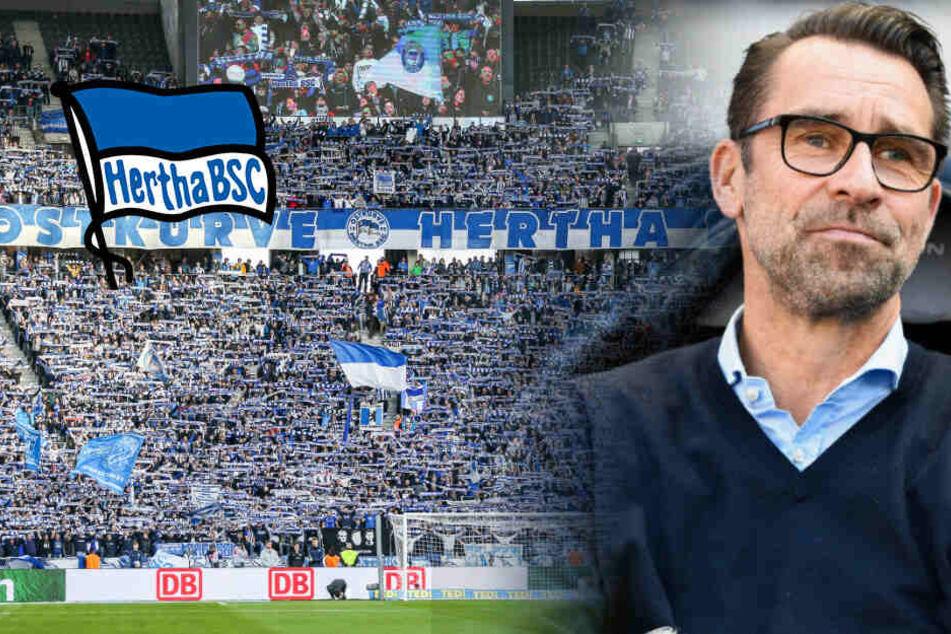"""Hertha-Manager trotz Dynamo-Fan-Invasion sicher: """"Blau-Weißen werden lauter sein"""""""