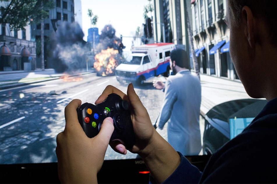 Der 12-Jährige wollte eine Szene aus einem Videospiel nachstellen.