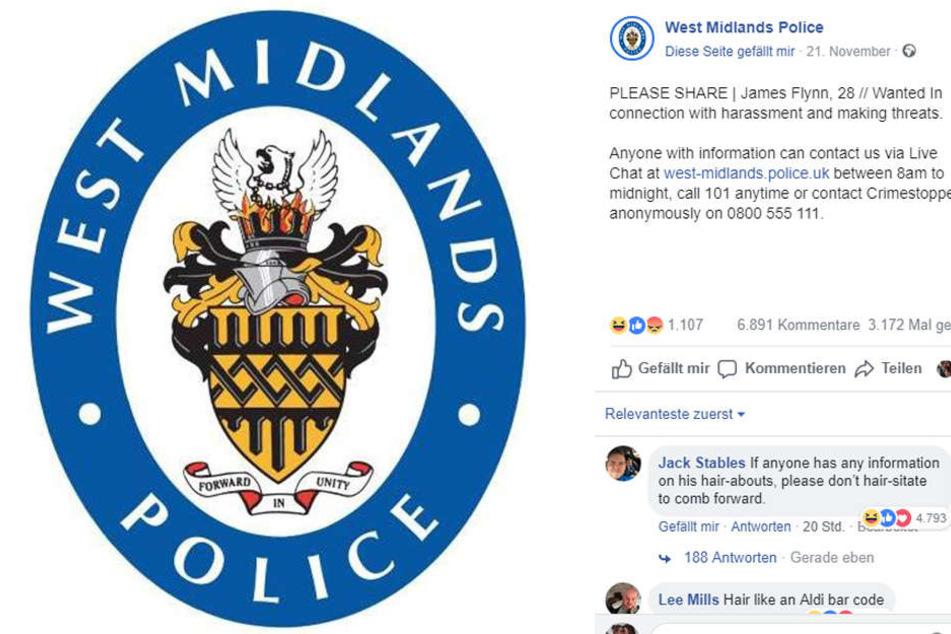 Die englische Polizei hatte den 28-Jährigen zur Fahndung ausgeschrieben.