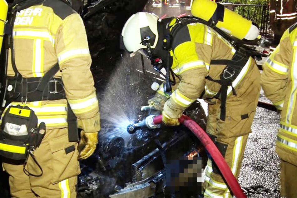 Einsatzkräfte der Feuerwehr konnten den Brand löschen