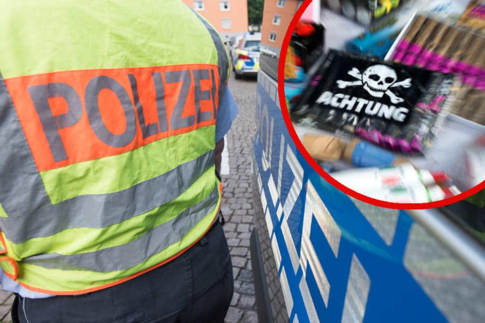 Großeinkauf auf Tschechenmarkt: Auto voller Waffen und Böller