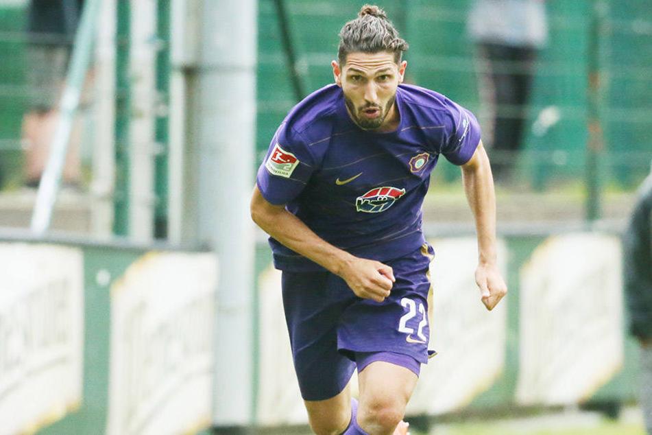 Fabio Kaufmann hat sich nicht hängen lassen, hat Gas gegeben und stand nun gegen Heidenheim im Kader.