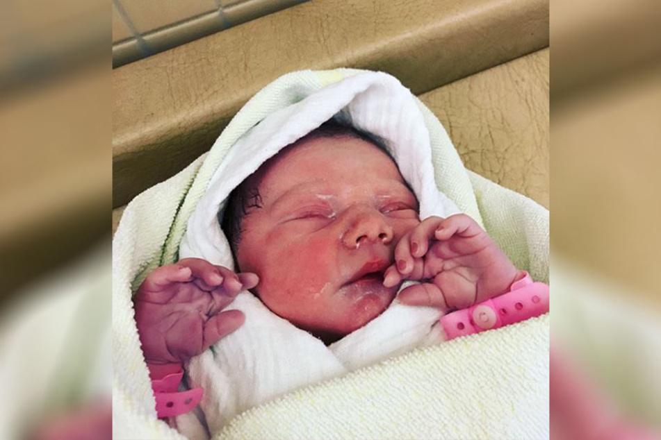 Sascha Pfeffers Tochter Lotta Mathilda kam am Mittwoch zur Welt.
