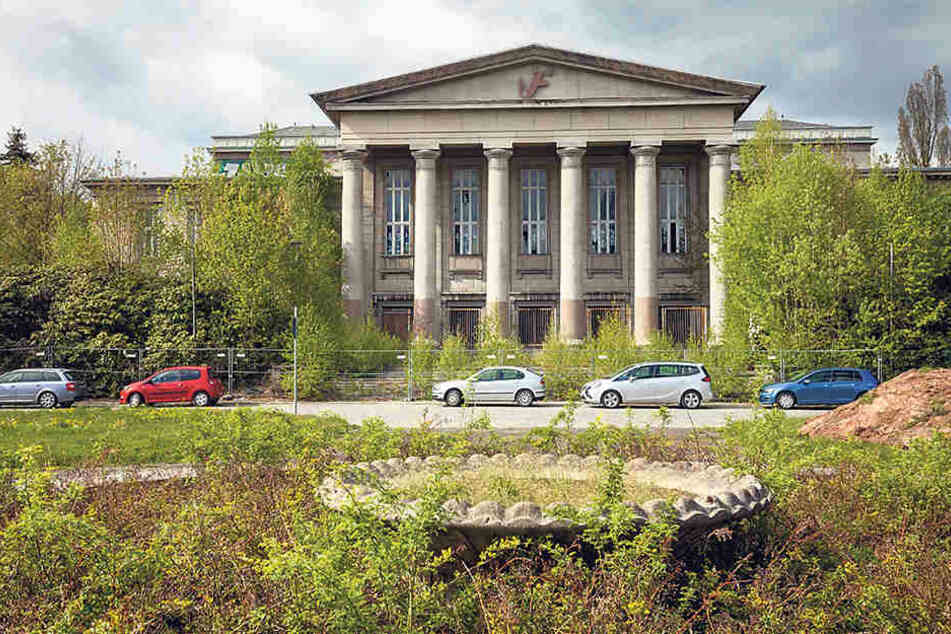Fürs Baufeld rings um den Kulturpalast gibt's Baupläne...
