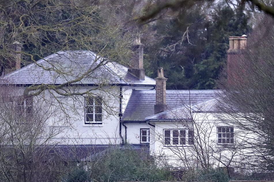 Das Frogmore Cottage, die damalige Residenz des Herzogs und der Herzogin von Sussex.